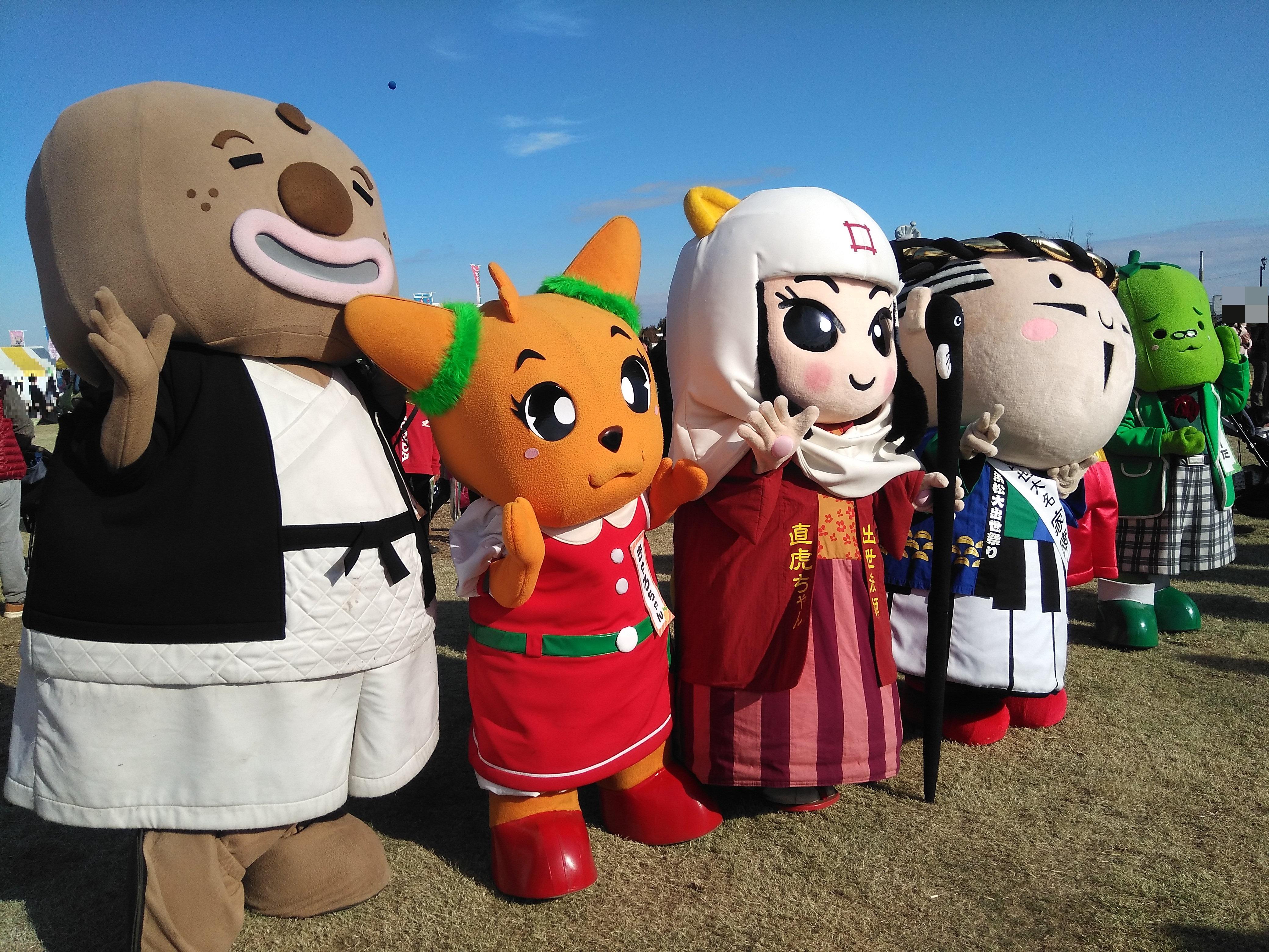 世界キャラクターさみっとin羽生2018 羽生水郷公園(埼玉県)③